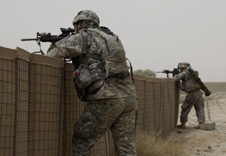 En 2003, Estados Unidos invadió Irak y derrocó a Sadam Hussein. Imagen de contexto de soldados estadounidenses en un operativo en Afganistán. (Foto: Archivo AP/Brennan Linsley)