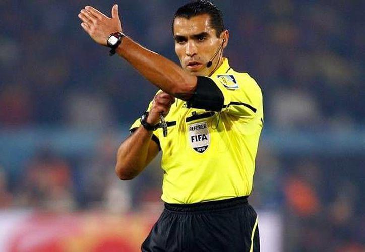 Marco Antonio Rodríguez ya fue árbitro en Alemania 2006 y en Sudáfrica 2010. (mediotiempo.com)