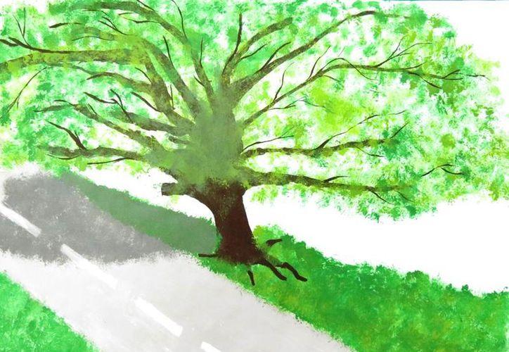 """La Comisión Nacional Forestal recibió 45 mil 883 propuestas para el Concurso Nacional de Dibujo Infantil """"Vamos a pintar un árbol"""". (Contexto/Internet)."""