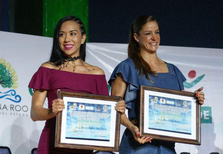 Las mujeres están ocupando espacios importantes, gracias a sus éxitos deportivos. Brenda Sosa y Rosa María Aragón, algunos casos. (Ángel Villegas).