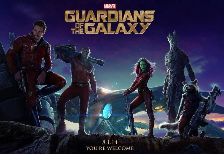 En su cuarto fin de semana, Guardianes de la galaxia superó a Transformers: Age of Extinction para ser la película más exitosa de estas vacaciones en EU. (marvel.com)