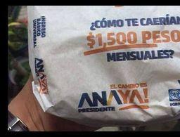 Suspende INE publicidad de Anaya en papel para tortillas