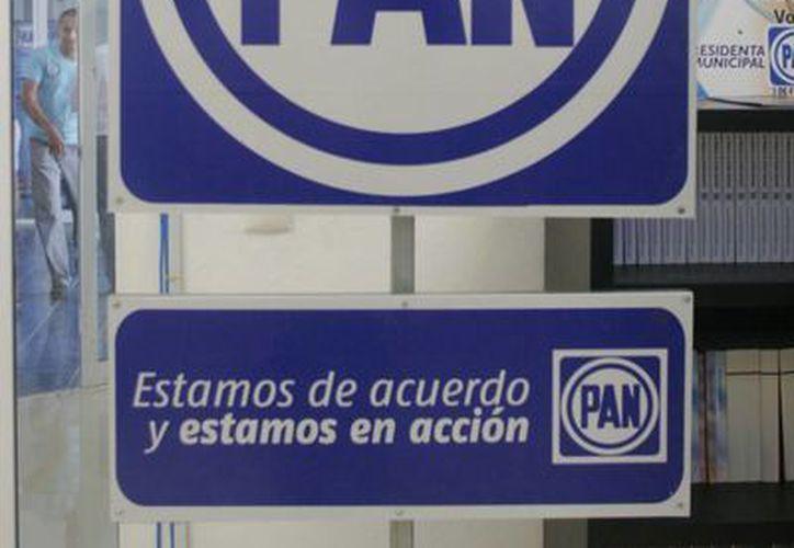 El PAN se mantiene como la segunda fuerza política en el estado. (Archivo/SIPSE)