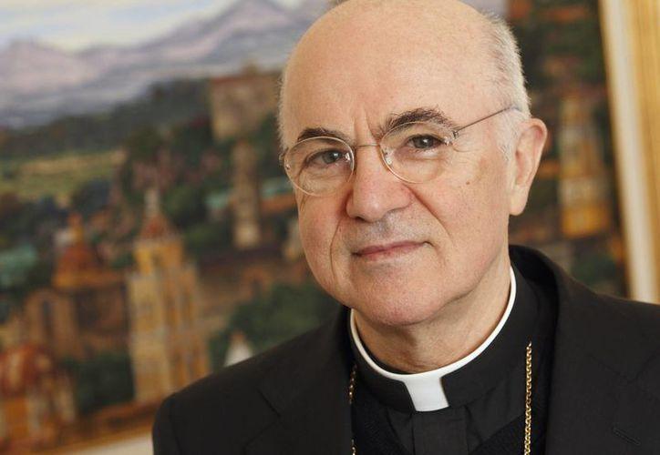 El arzobispo Carlo Maria Vigano, de 75 años, presentó su renuncia en enero y fue aceptada este martes por el Papa Francisco. (mondayvatican.com)