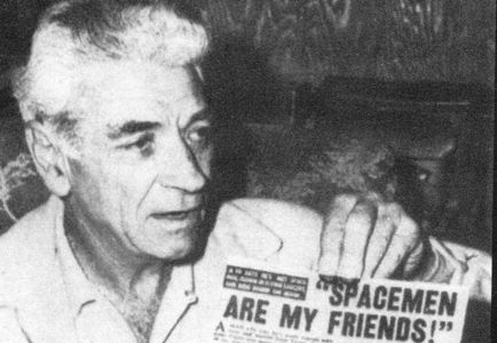 George Adamski, considerada la primera persona en el mundo en tener contacto con extraterrestres estuvo al menos dos veces en Yucatán. (SIPSE)