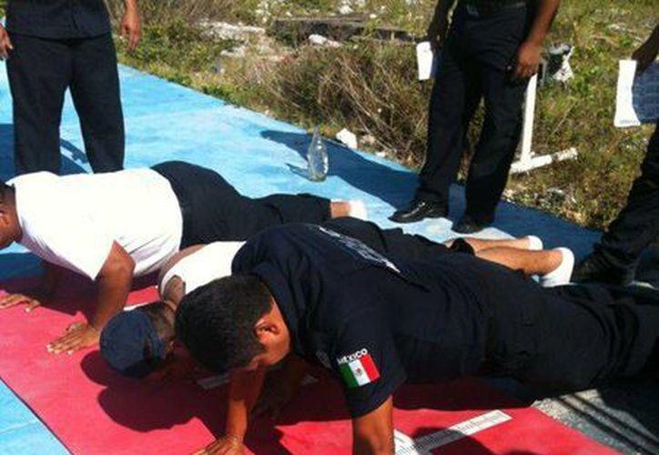 Se le realizó al persona de seguridad diversos exámenes físicos. (Redacción/SIPSE)