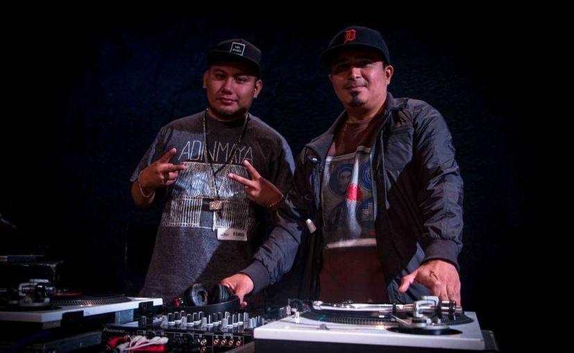 Pat Boy y Dj Rakalku hacen música con temas de comunidades mayas de Quintana Roo. (Cortesía/Pat Boy)