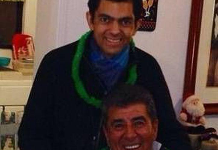 José Antonio Reinoso llegó a jugar con el León mientra su padre Carlos era el entrenador. (Foto: Twitter Carlos Reinoso)