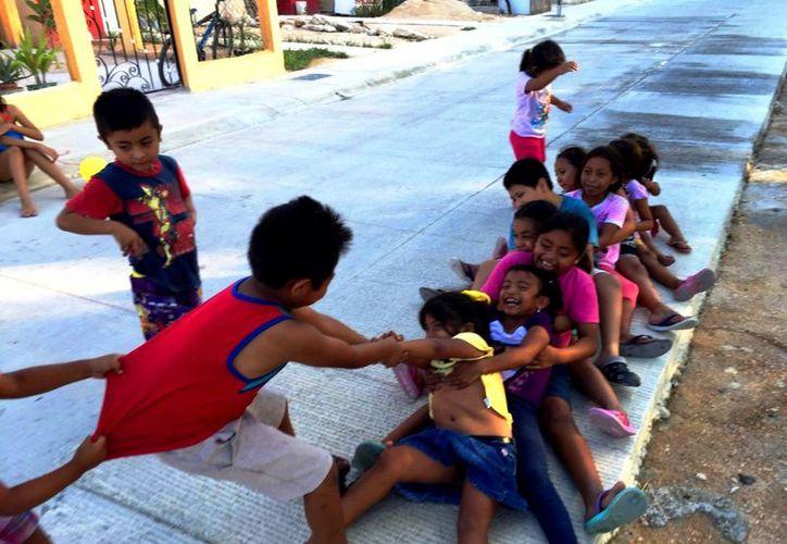 Alrededor de 7 mil menores de edad del fraccionamiento Puerto Maya no tienen una escuela cerca. (Daniel Pacheco/SIPSE)