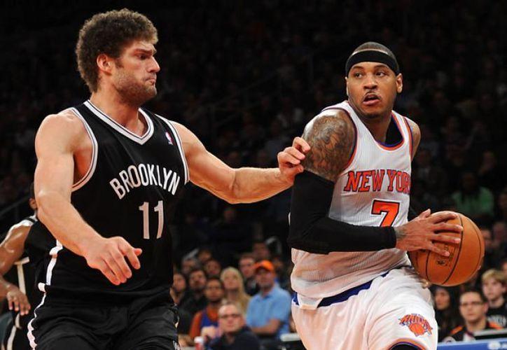 Knicks se impusieron ante Nets de Brooklyn, en juego de temporada regular de la Asociación Nacional de Baloncesto (NBA). (Contexto/Internet)