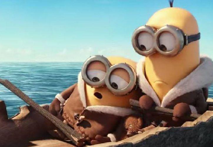 El avance de la película de Los Minions se remonta a 1968, 42 años antes del nacimiento de Gru. (Captura de pantalla de YouTube)