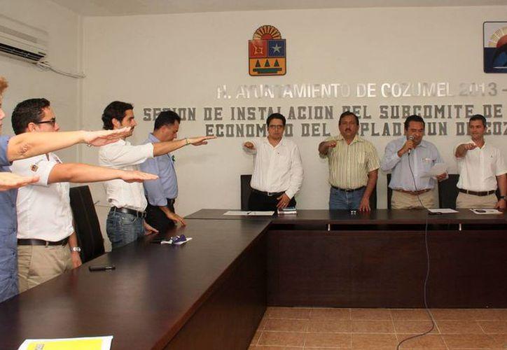 Las reuniones se realizaron en el salón de Cabildo. (Cortesía/SIPSE)