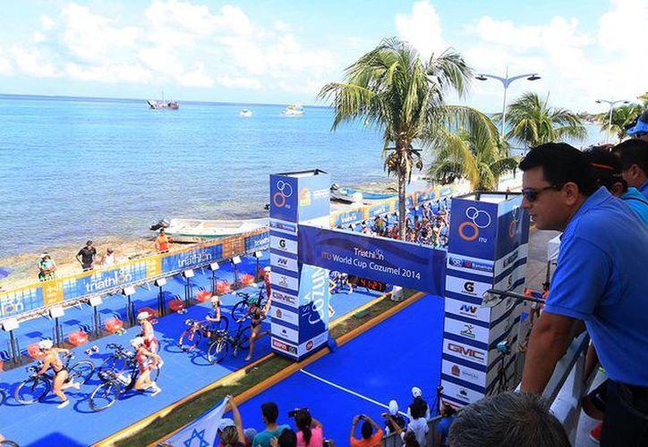 Las competencias del triatlón se llevarán a cabo el sábado 3 y domingo 4 de octubre. (Redacción/SIPSE)