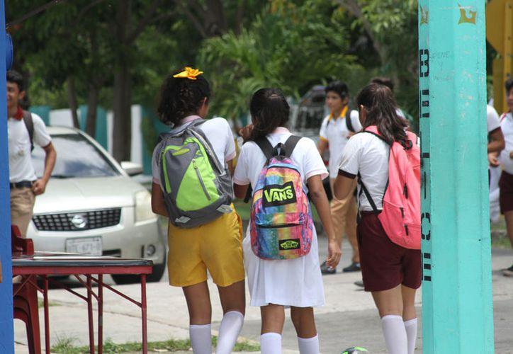 Entre 2015 y 2016 fueron nueve los alumnos víctimas, según un reporte de la SEQ. (Foto: Jesús Zamora)