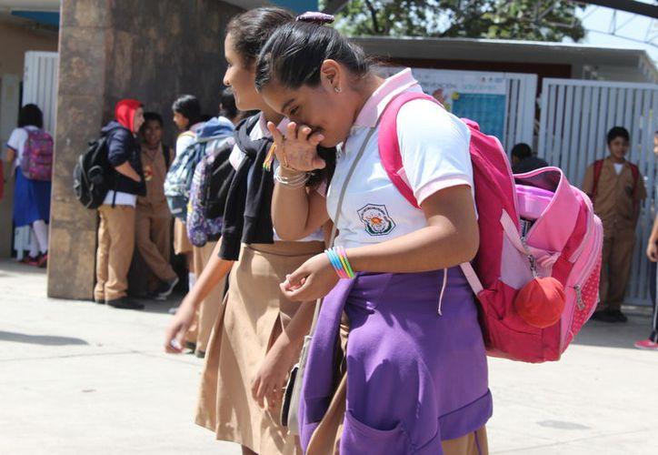 Antes de que inicie el presente ciclo escolar, la Cdheqroo asegura tener dos quejas relacionadas con el cobro de la cuota. (Joel Zamora/SIPSE)