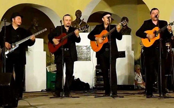 Los Juglares interpretarán diferentes canciones de Juan Gabriel, al son de la trova yucateca que los caracteriza.(Milenio Novedades)