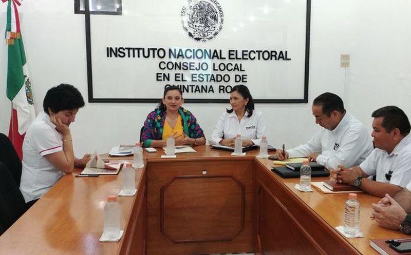 Los funcionarios del Instituto Nacional Electoral recibirán la documentación para el reclutamiento a partir del 16 de abril. (Joel Zamora/SIPSE)