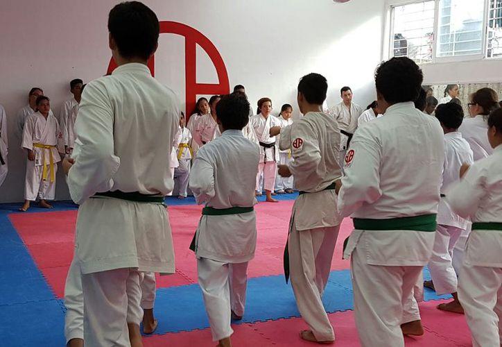 En el evento asistirán instructores y alumnos de Shitokai Quintana Roo. (Ángel Villegas/SIPSE)