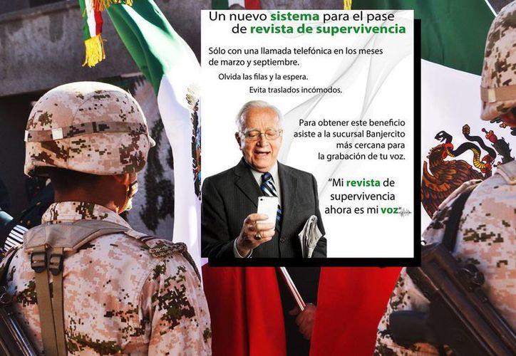 Banjército ha comenzado a difundir el nuevo sistema biométrico para el pase de revista de militares retirados y pensionistas. (Especial)