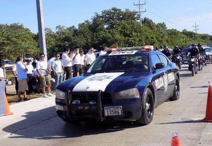 La Policía Federal inició desde el viernes su operativo decembrino en todo el país. (SIPSE)