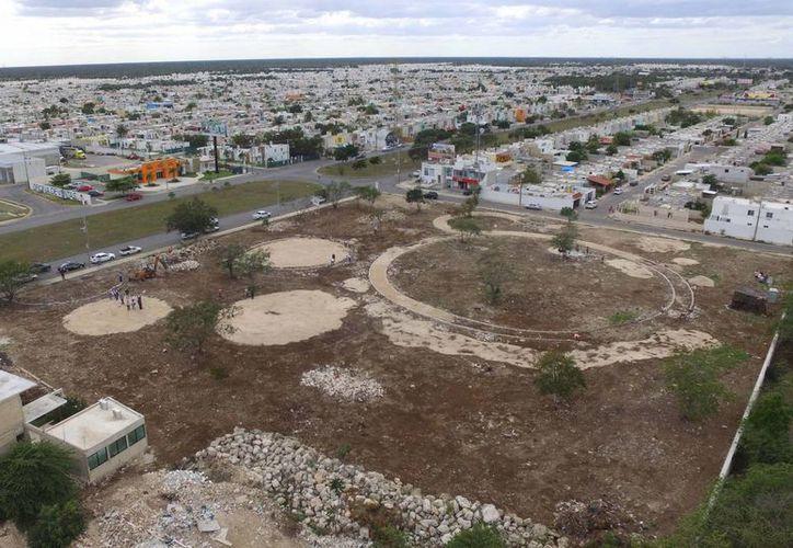 Con la construcción de un parque en Ciudad  Caucel se beneficiará a 25 mil vecinos (Fotos cortesía del Ayuntamiento)