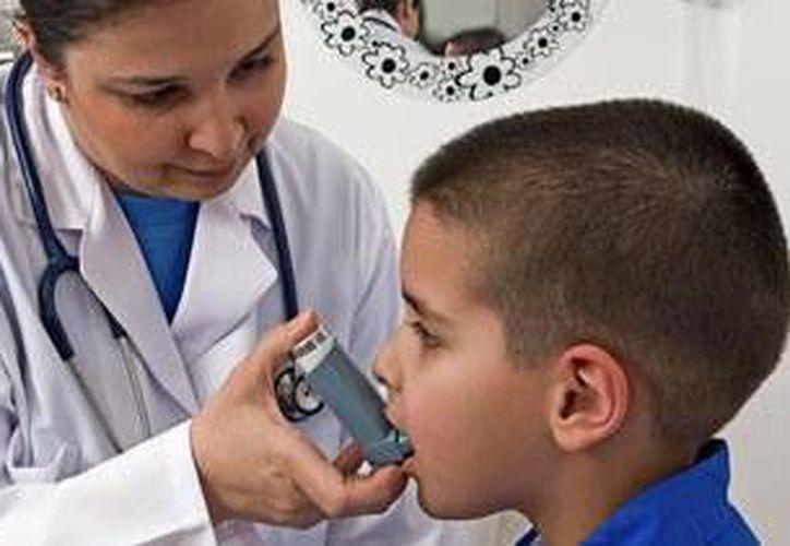 El asma es más común en niños de uno a cuatro años de edad. (Milenio Novedades)