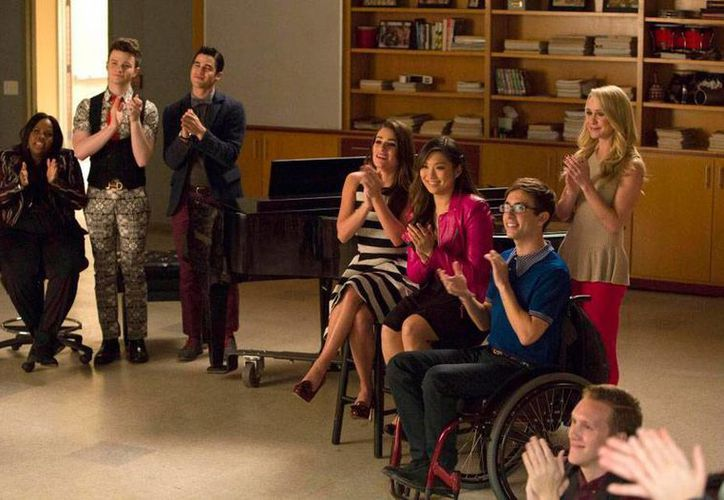 Imagen de capítulo de la serie 'Glee' de la cadena Fox que llegó a su fin esta semana. (melty.es)