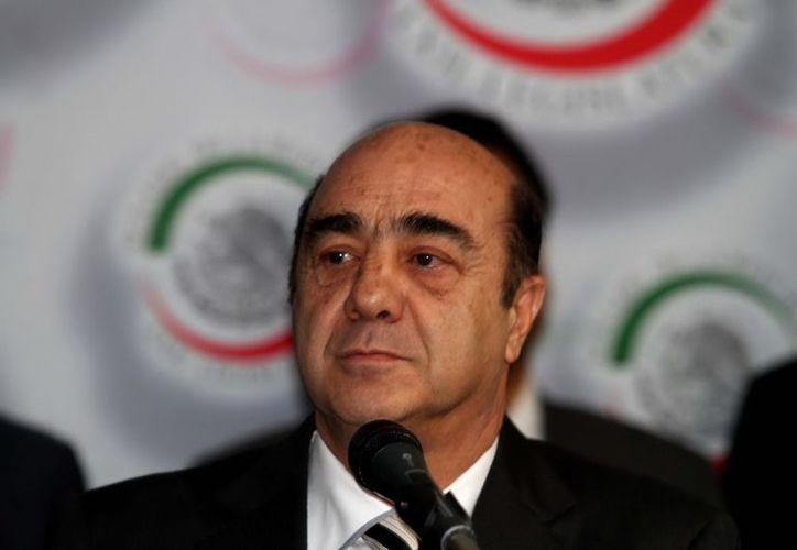 Jesús Murillo Karam es el titular de la Procuraduría General de la República. (Notimex)