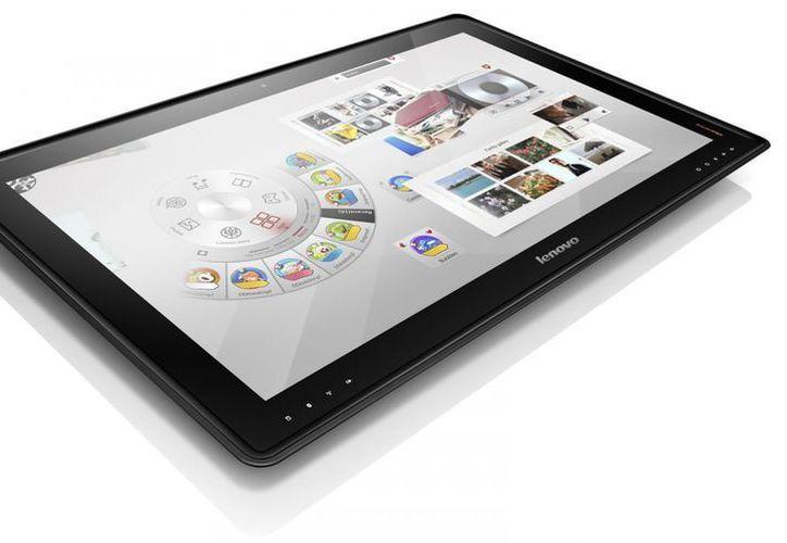 Cuatro personas al mismo tiempo pueden usar la tableta. (Agencias)