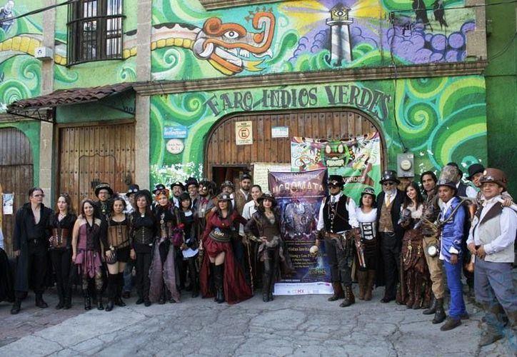 """En toda la República Mexicana existen varios grupos de """"steampunk"""". (Joselyn Díaz/ SIPSE)"""