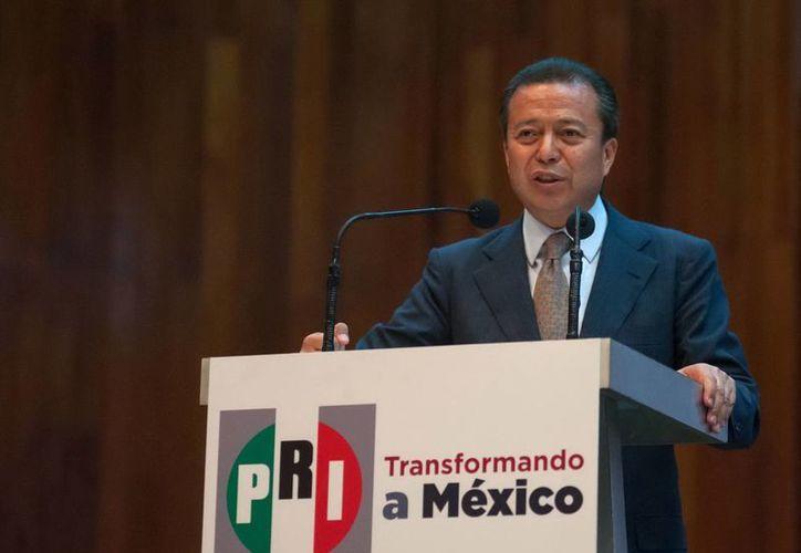 César Camacho: iremos ante los tribunales con la ley en mano. (Notimex/Archivo)