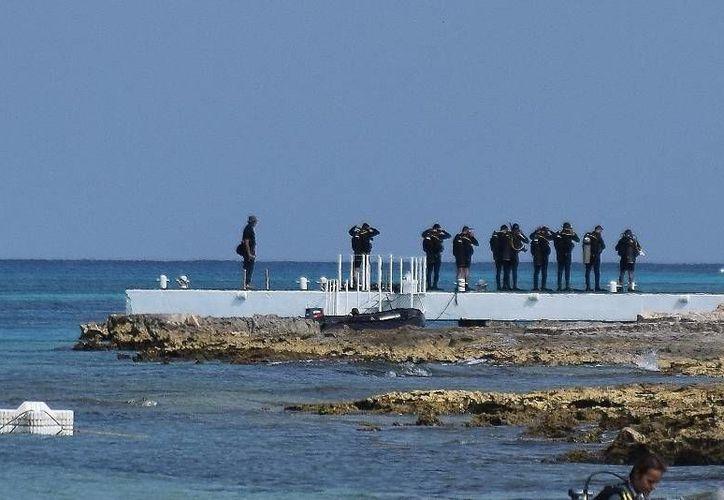 El lamentable suceso ocurrió en un área cercana a la playa Las Casitas. (Foto: Gustavo Villegas)