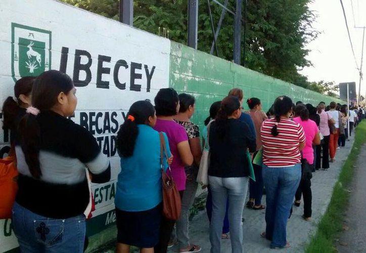 Las becas obtenidas ante el Ibecey se harán efectivas a partir del 8 de diciembre. (SIPSE)