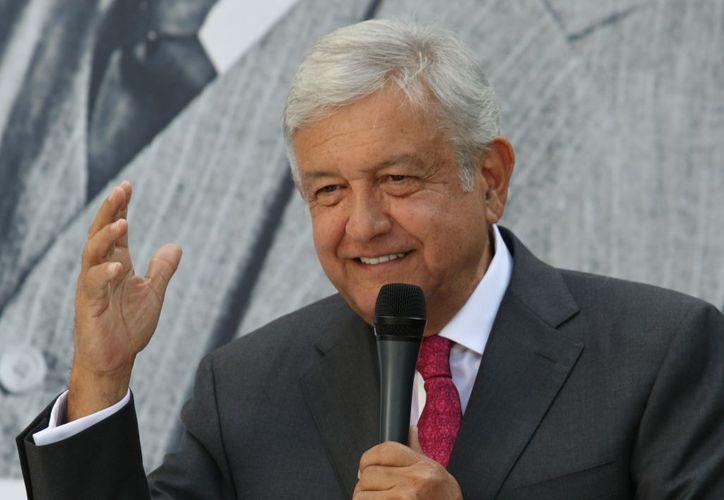 Andrés Manuel López Obrador reiteró a los mexicanos que no los defraudará. (Financiero)