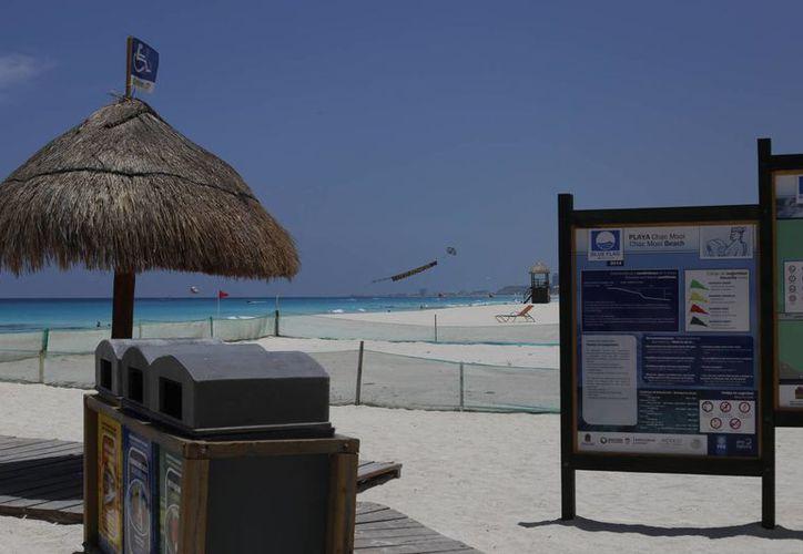 Colocarán centros informativos en la zona de playas y en el centro de la ciudad. (Israel Leal/SIPSE)