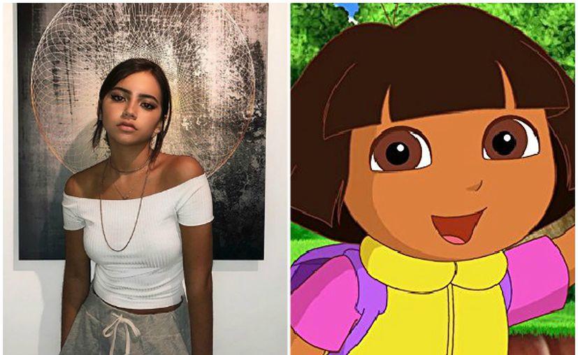 Moner mostró su look como Dora en su cuenta de Instagram. (Milenio)