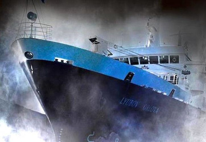El Lyubov Orlova se sóltó del cable que lo remolcaba a República Dominicana, donde sería desmantelado, en febrero del 2013 frente a las costas de la isla canadiense de Terranova. (RT)