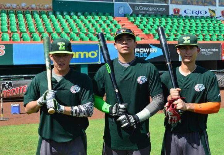 Los jugadores de la sucursal de Leones han iniciado con su preparación deportiva, en el parque de beisbol Kukulcán Álamo.(Foto tomada de Leones.mx)