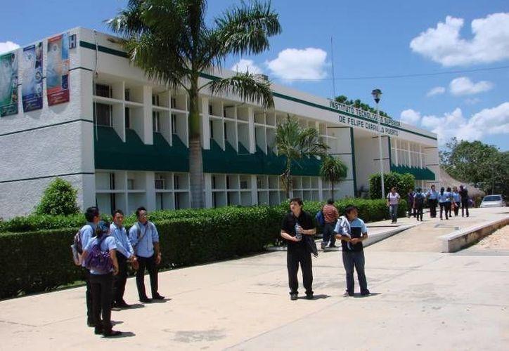 El Instituto Tecnológico Superior de Felipe Carrillo Puerto busca que los jóvenes formen proyectos a favor de su comunidad. (Redacción/SIPSE)