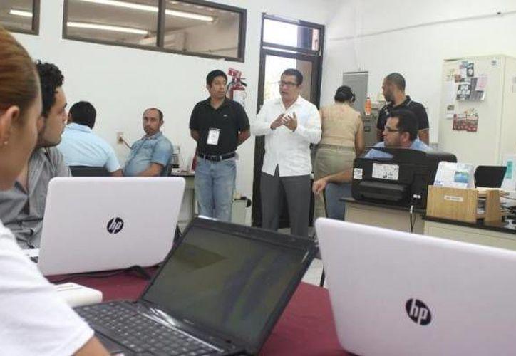 El Ieqroo cuenta con infraestructura para satisfacer la demanda de los usuarios al momento del conteo del Programa de Resultados Preliminares de la Elección Quintana Roo 2016. (Foto: Distrito Centro)