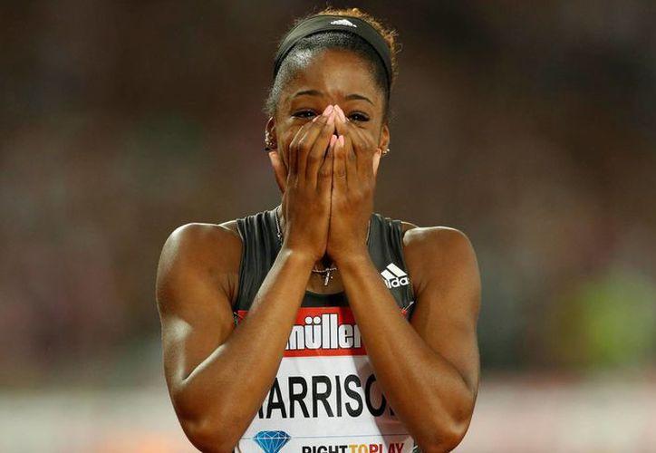 La norteamericana Kendra Harrison corrió en la Liga Diamante los 100 metros con vallas en 12.20 segundos. El récord mundial era de 12.21 segundos. (theguardian.com)