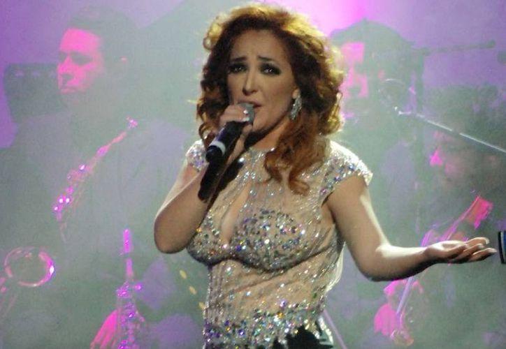 Myriam Montemayor, quien saltó a la fama gracias al programa 'La Academia' cantará nuevos temas en el teatro Metropolitan. (Foto de archivo de Noitimex)