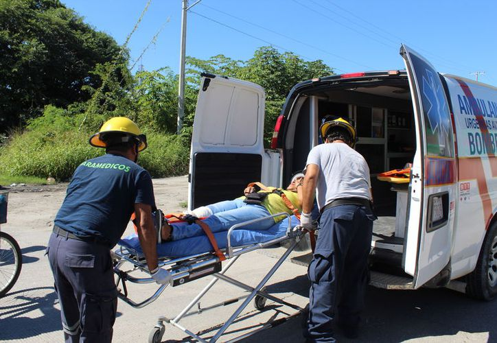 Para ser atendida por especialistas, la mujer afectada fue trasladada al nosocomio. (Foto: Redacción/SIPSE)