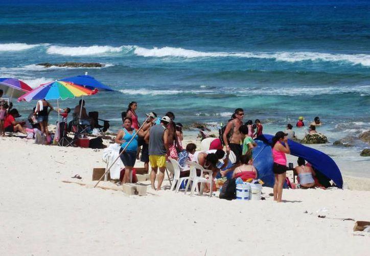El proyecto más económico para restaurar las playas es de 200 millones de pesos. (Archivo/SIPSE).