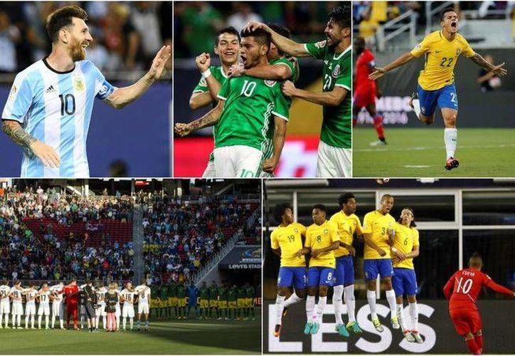 La fase de eliminación directa de la Copa América Centenario se reanuda este jueves. (Milenio Digital)