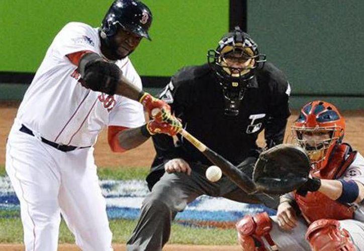 Previo al juego entre Boston y los Rays de Tampa Bay, los Medias Rojas rindieron un homenaje a David Ortiz por sus 500 jonrones en Grandes Ligas. (telemundo47.com)