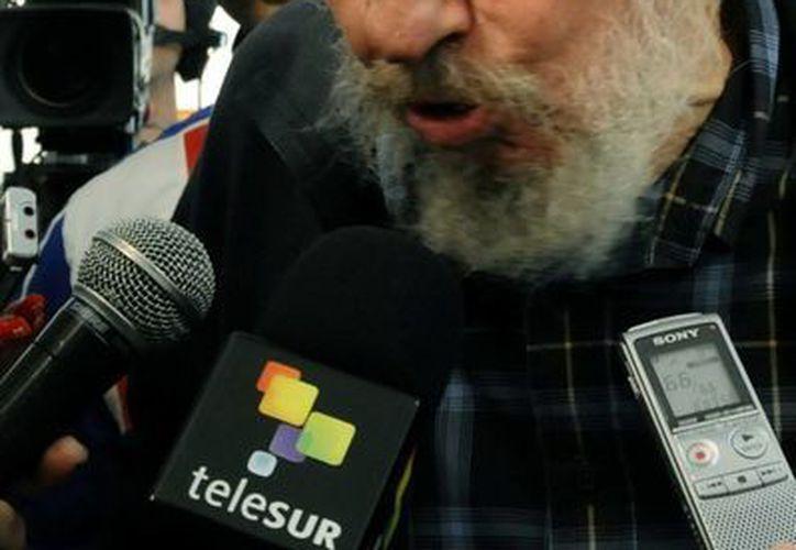 El longevo comandante cubano en una de sus últimas apariciones públicas el pasado 3 de febrero (EFE)