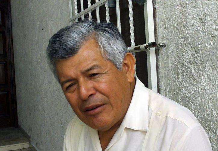 Imagen del sacerdote Lorenzo Mex Jiménez, quien fue mandado a Valladolid. (Milenio Novedades)