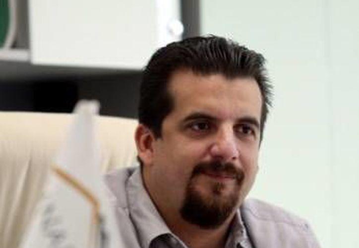 El dirigente de la Canadevi, Carlos Medina Rodríguez. (Milenio Novedades)
