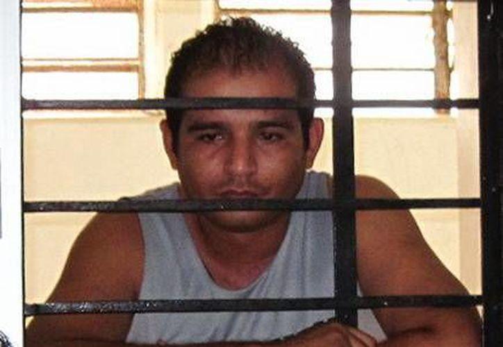 Alejandro Jesús Rebolledo Sierra fue perseguido y capturado en los pasillos del O'Horán. (Francisco Puerto/SIPSE)